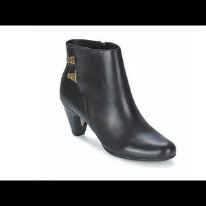Ankle Boots Sam Edelman Marmont Black Leather  7